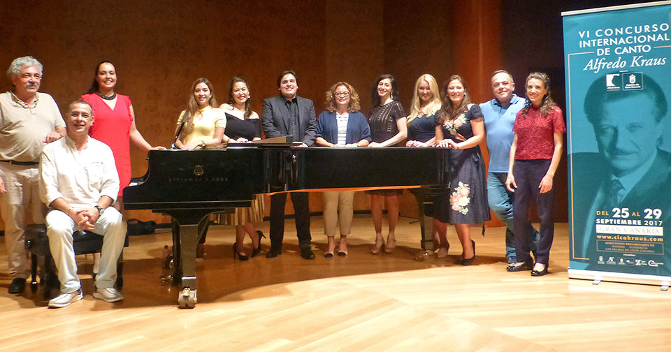 Nueve de los 28 candidatos inscritos a las audiciones de Gran Canaria pasan a la semifinal del VI Concurso Internacional de Canto Alfredo Kraus