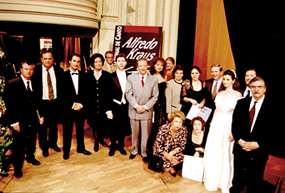 IV Edición del Concurso Internacional de Canto Alfredo Kraus (1996 - Teatro Pérez Galdós)
