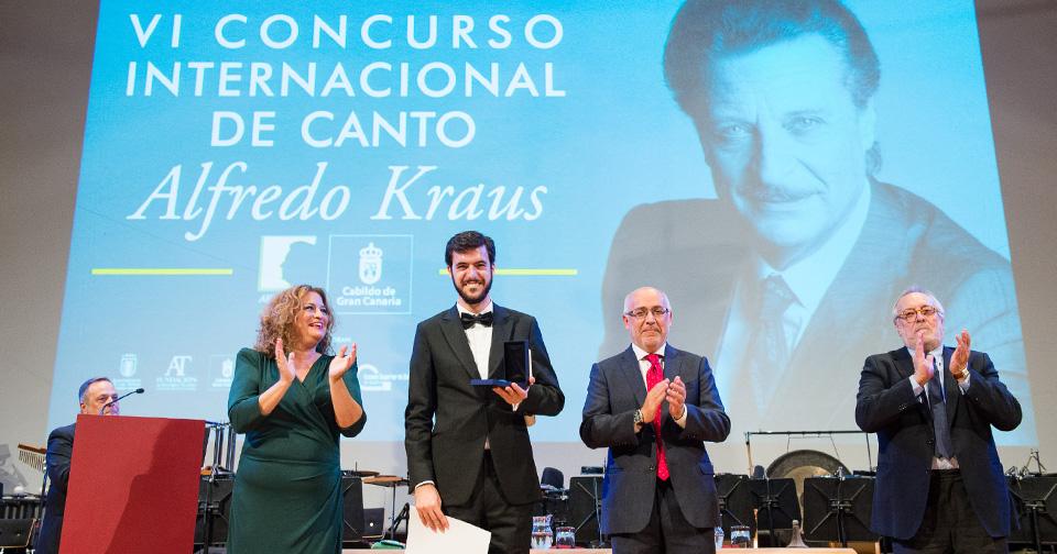 Gran Canaria descubre tres jóvenes talentos líricos en la Final del VI Concurso Internacional de Canto Alfredo Kraus