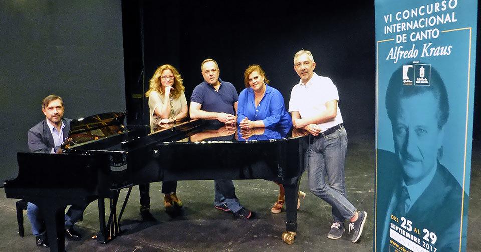 Siete cantantes superan las pruebas preliminares del VI Concurso Internacional de Canto Alfredo Kraus celebradas en Madrid