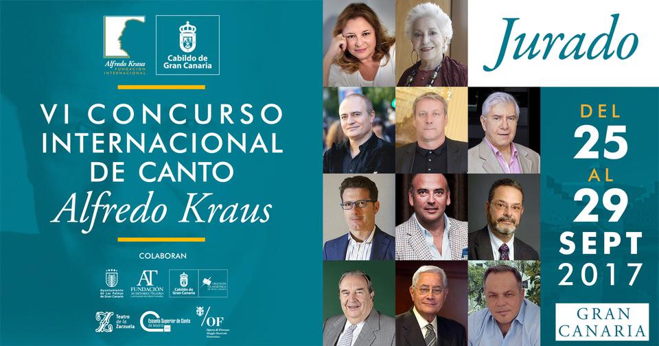 La Fundación Internacional Alfredo Kraus anuncia el plantel del Jurado del VI Concurso de Canto que presidirá la mezzosoprano Teresa Berganza