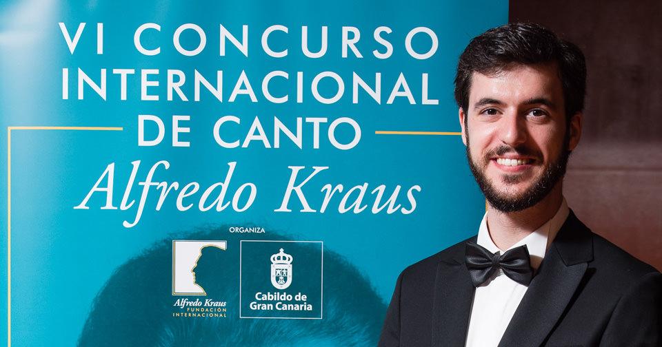 El ganador del VI Concurso Internacional de Canto Alfredo Kraus, Carles Pachón, es el único español entre los seleccionados en Operalia Lisboa 2018