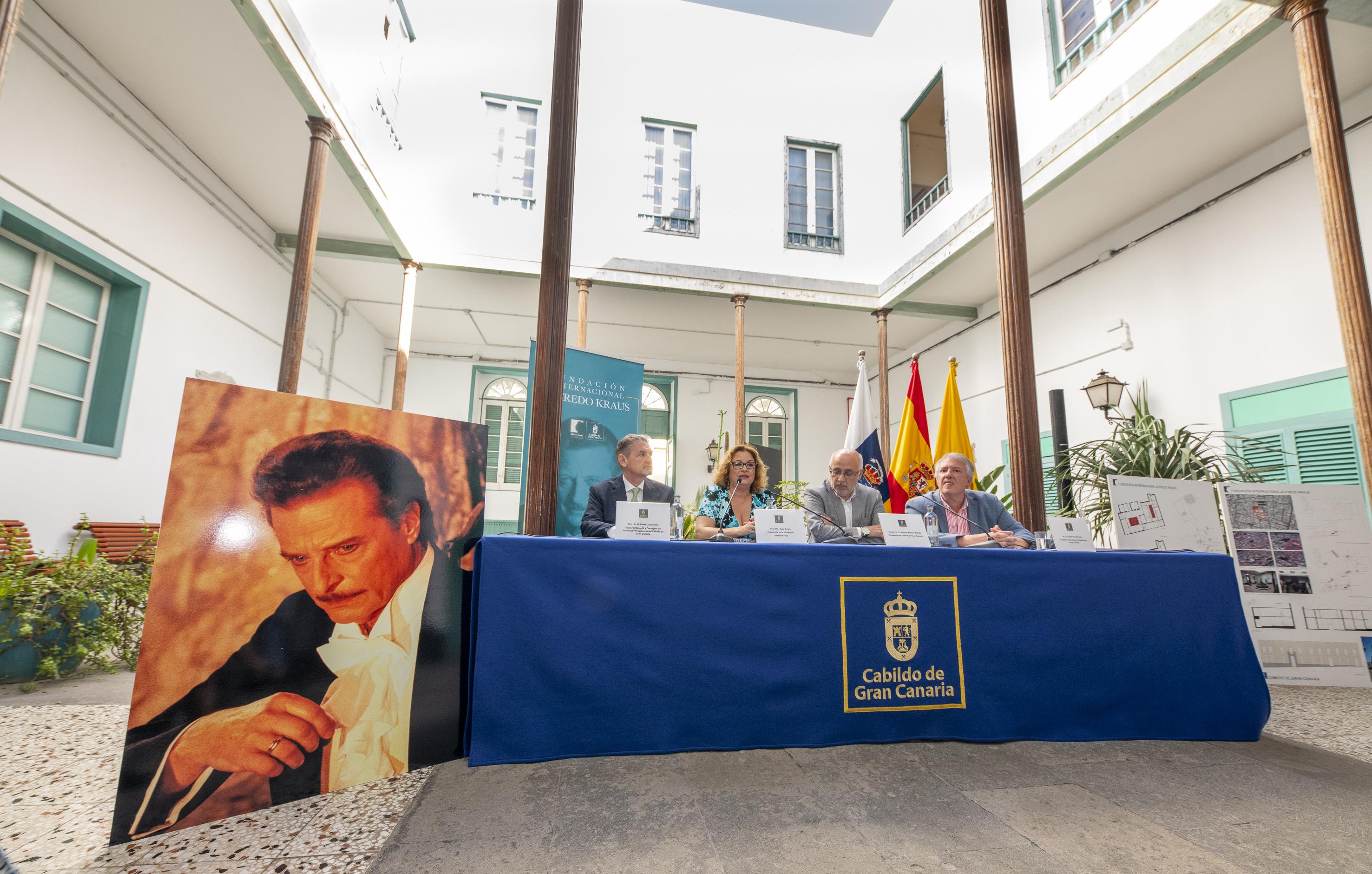 El Cabildo de Gran Canaria destina parte del antiguo internado de San Antonio, en el centro histórico de la capital grancanaria, a sede de la Fundación Internacional Alfredo Kraus