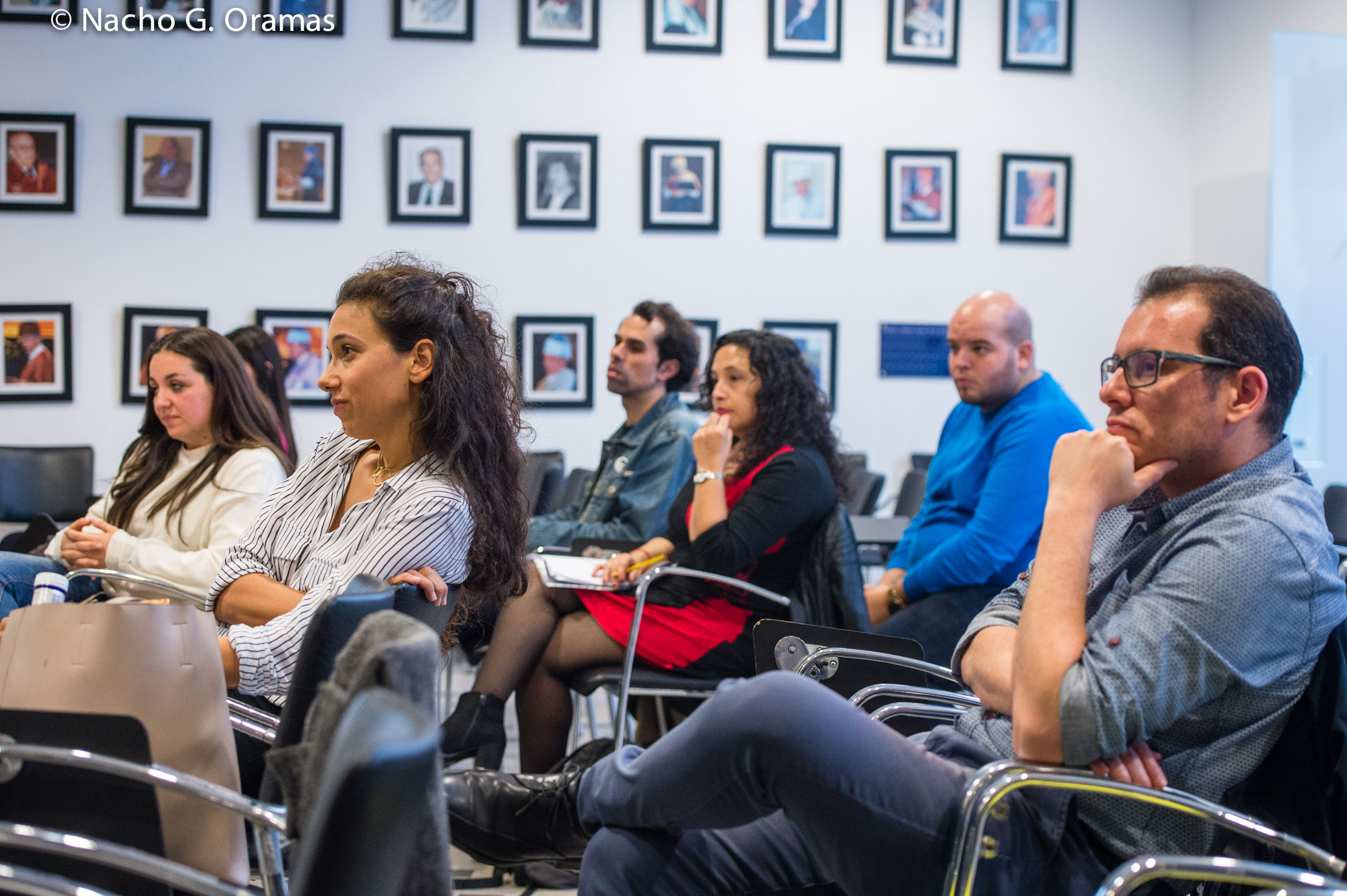 Los siete cantantes participantes en el Workshop FIAK18 potencian sus capacidades interpretativas a través de las enseñanzas de la soprano Nicola Beller Carbone