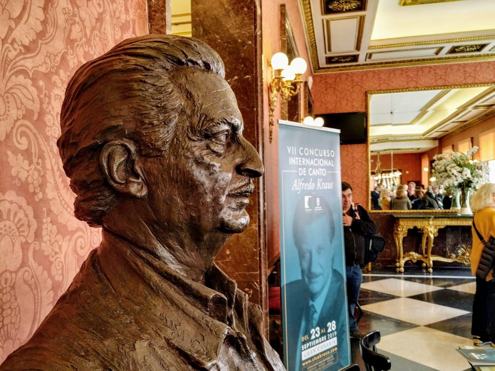 Presentación del VII Concurso Internacional de Canto Alfredo Kraus en el Teatro de la Zarzuela de Madrid