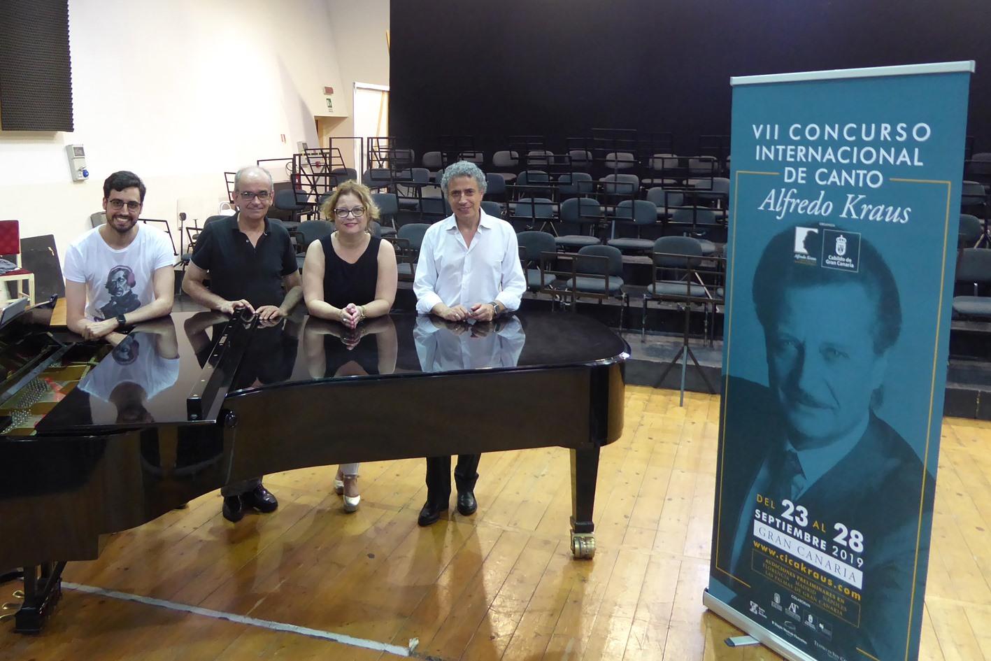 Finalizan las pruebas preliminares del VII Concurso Internacional de Canto Alfredo Kraus en Madrid, Florencia y Nápoles
