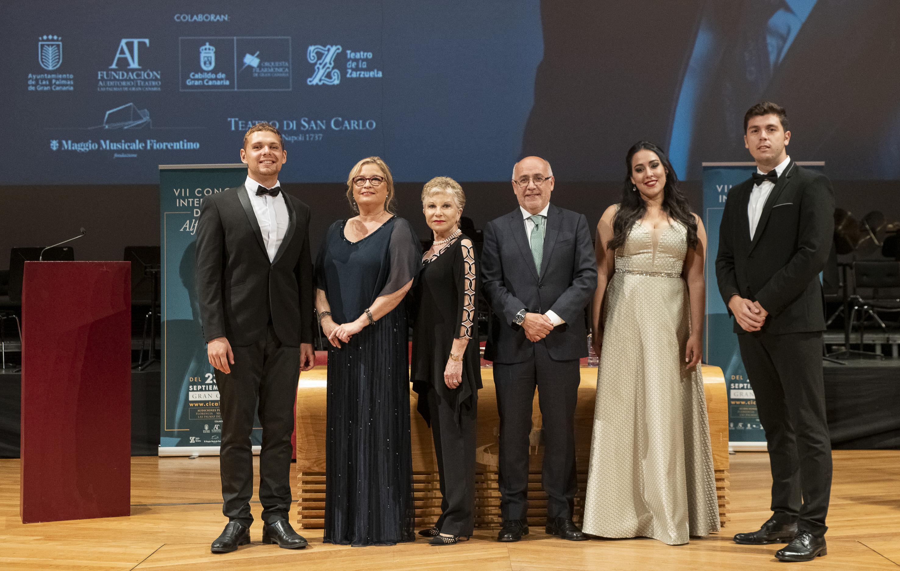 El bajo barítono Manuel Fuentes Figueira resultó ser el gran ganador del VII Concurso Internacional de Canto Alfredo Kraus