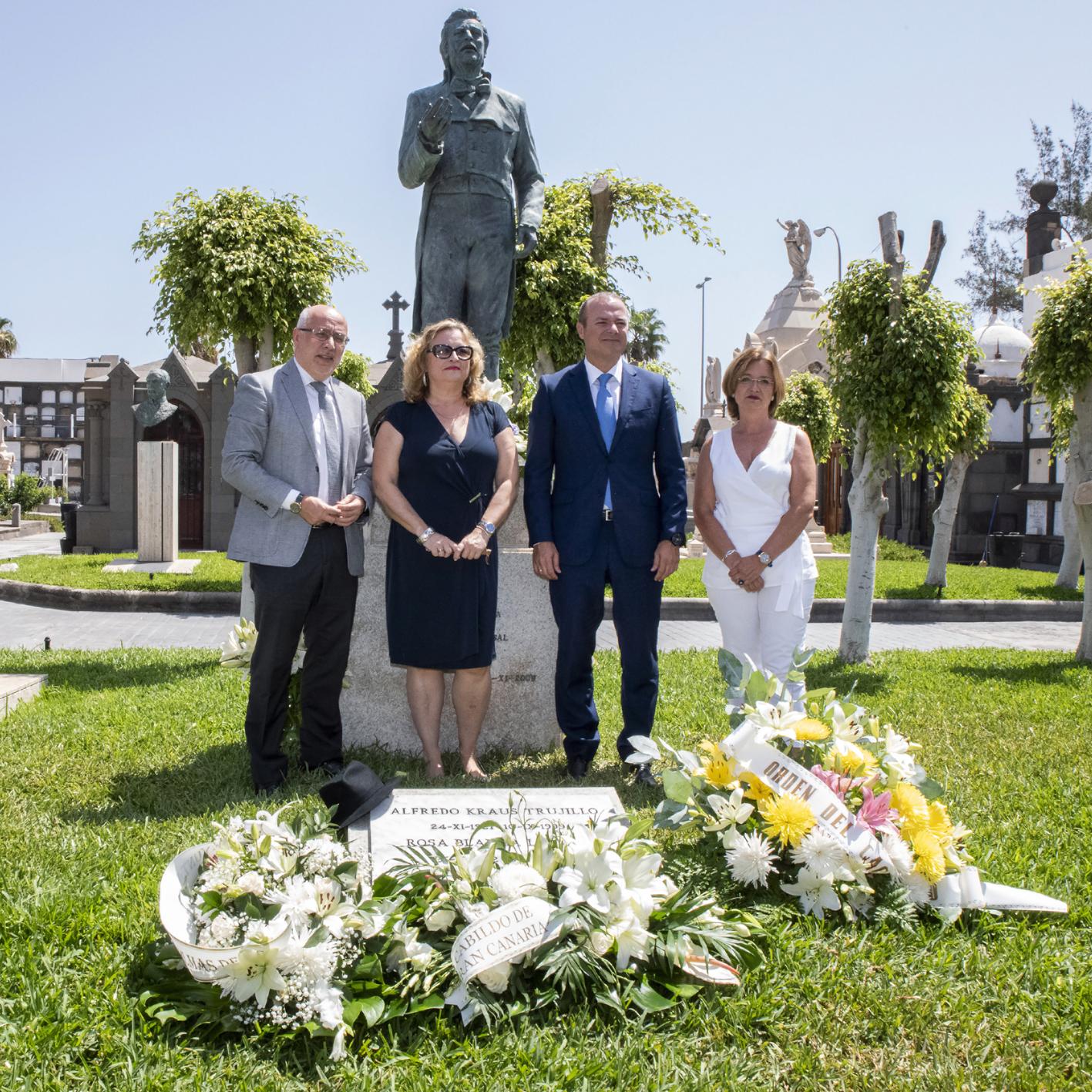 La FIAK conmemora el 20 aniversario del fallecimiento del tenor Alfredo Kraus