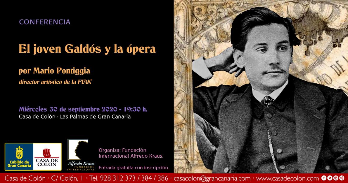 La Fundación Internacional Alfredo Kraus rinde homenaje a Benito Pérez Galdós en el centenario de su fallecimiento