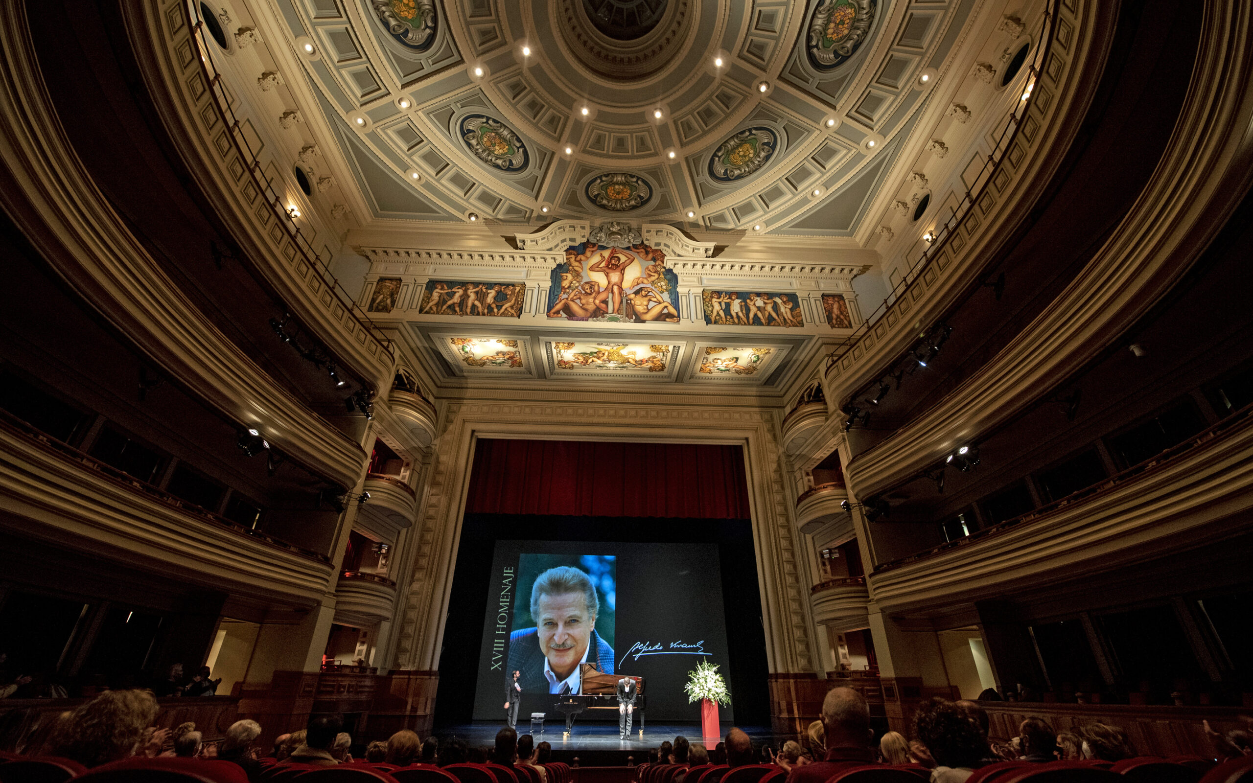 XVIII Concierto Homenaje a Alfredo Kraus en el 93 aniversario de su nacimiento, a cargo del tenor Ismael Jordi y el pianista Rubén Fernández Aguirre