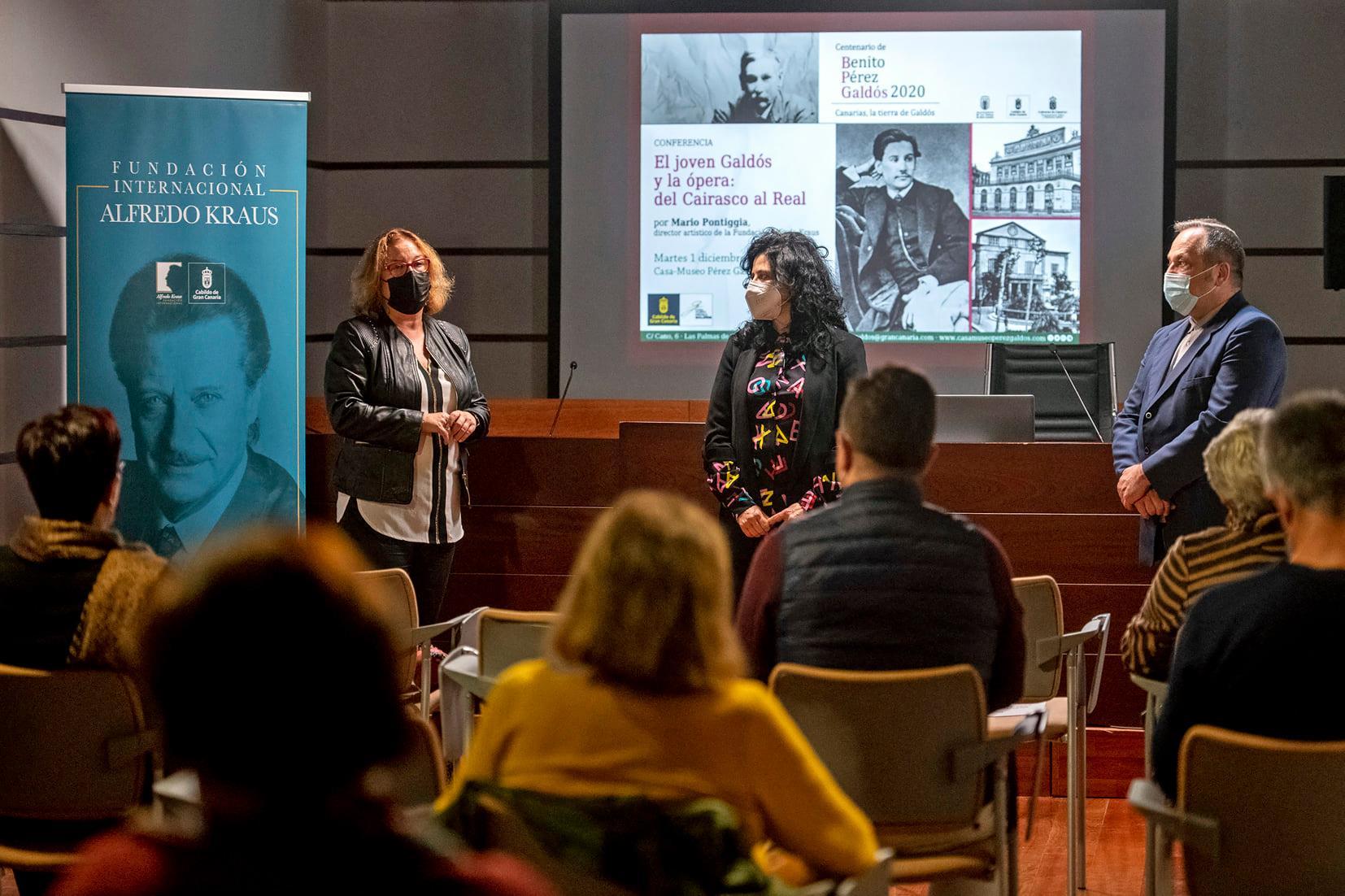 El director artístico de la FIAK, Mario Pontiggia, recrea el interés por la música que mostró Galdós desde su adolescencia en la capital grancanaria