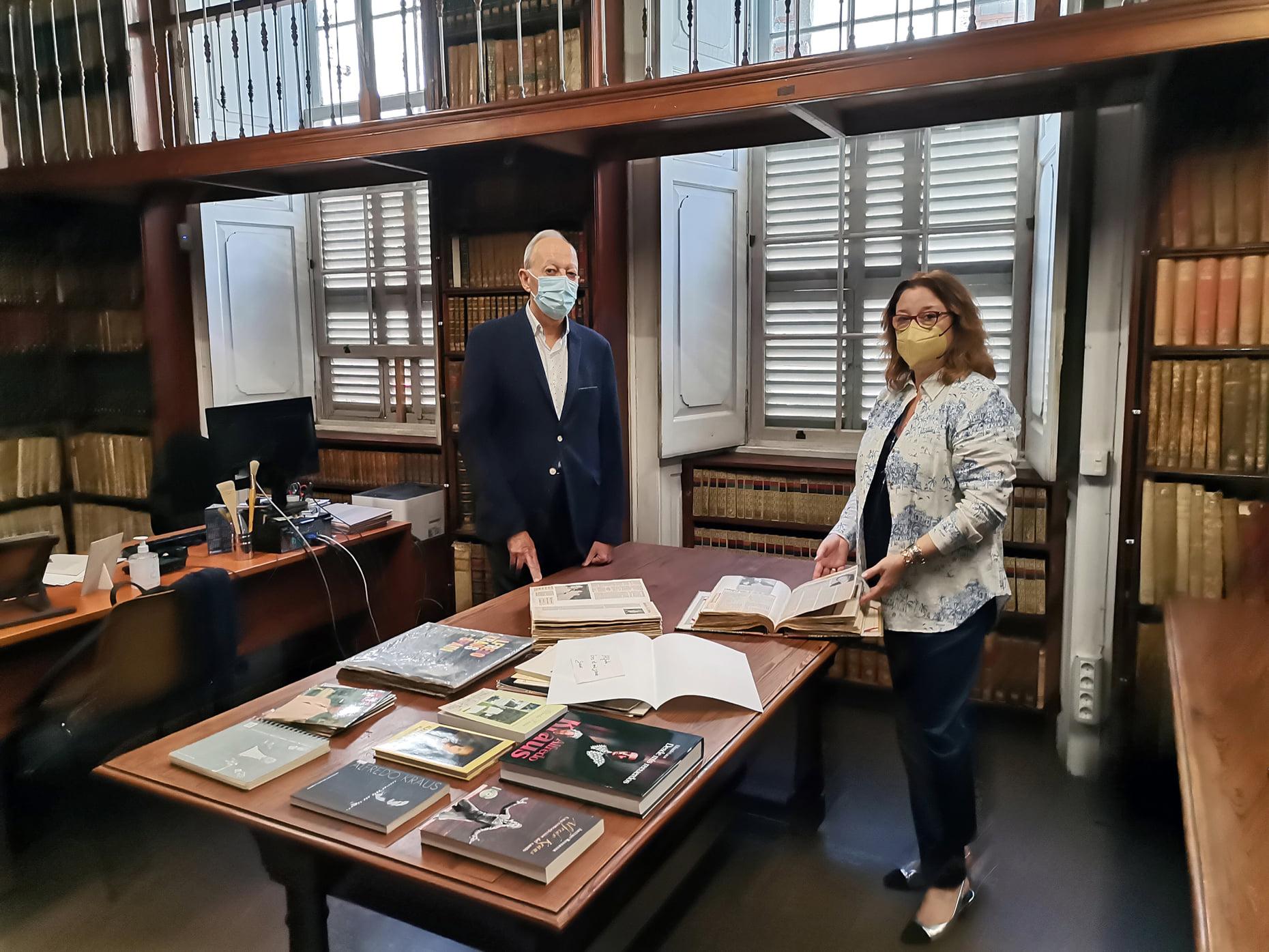 La FIAK y El Museo Canario sellan las bases para establecer una colaboración mutua