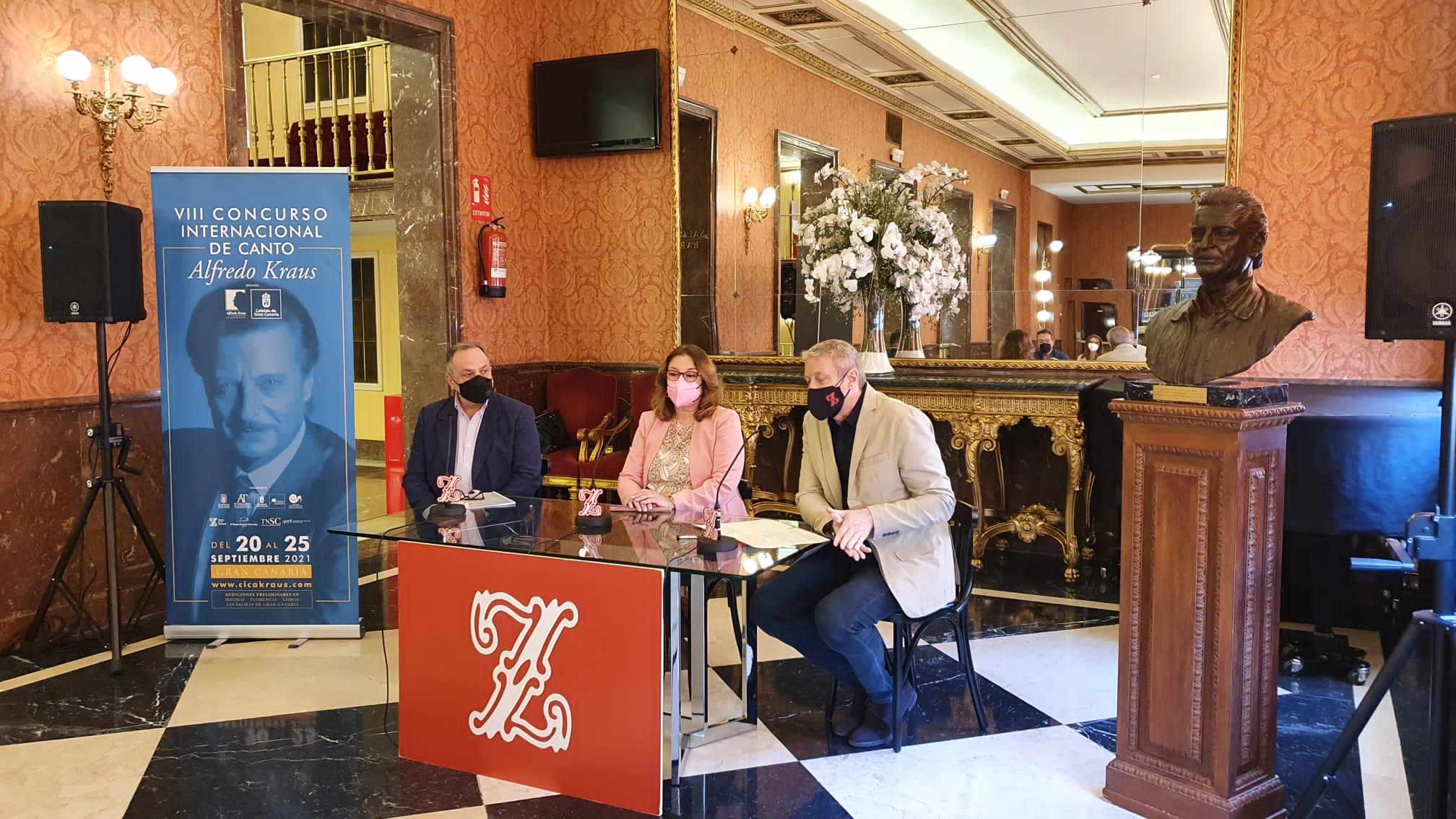 Presentación nacional del VIII CICAK en el Teatro de la Zarzuela, en Madrid
