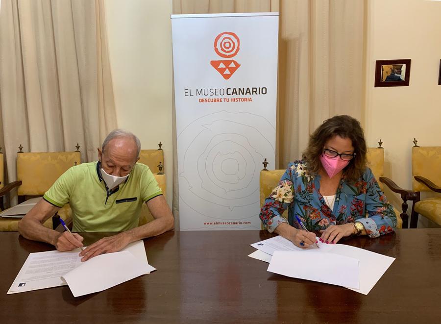 La FIAK firma un acuerdo de colaboración con El Museo Canario para trabajar en favor del patrimonio musical de Canarias