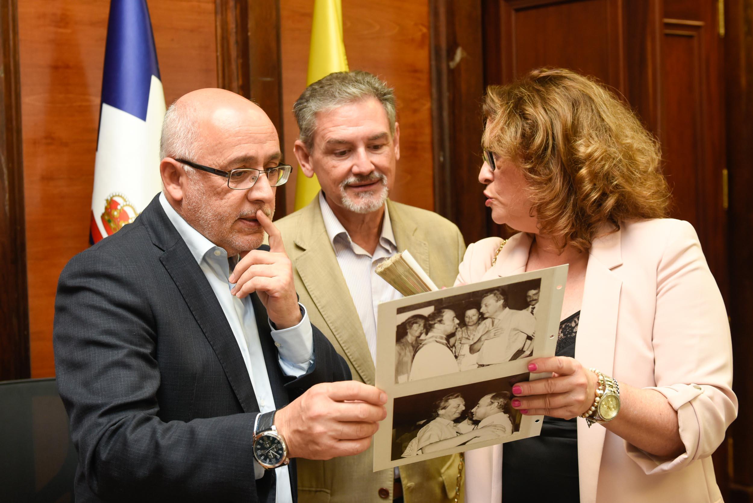 El Cabildo de Gran Canaria y la Fundación Kraus culminan el inventariado del legado de Alfredo Kraus y afrontan su restauración