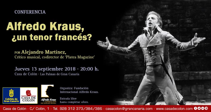 El crítico musical Alejandro Martínez profundiza en la magistral forma en que el tenor Alfredo Kraus abordó el estilo francés