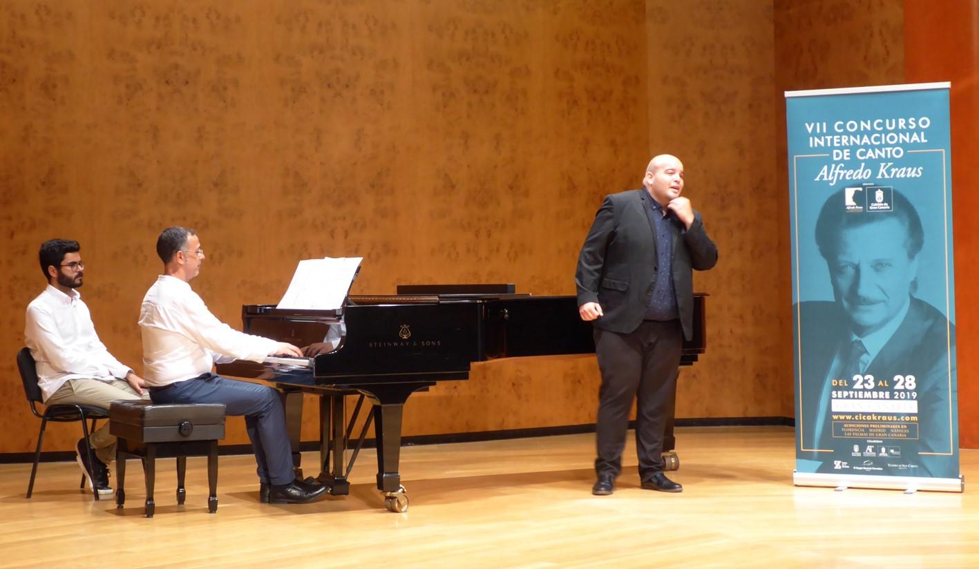 Nueve cantantes de seis nacionalidades pasan a la final del VII Concurso Internacional de Canto Alfredo Kraus