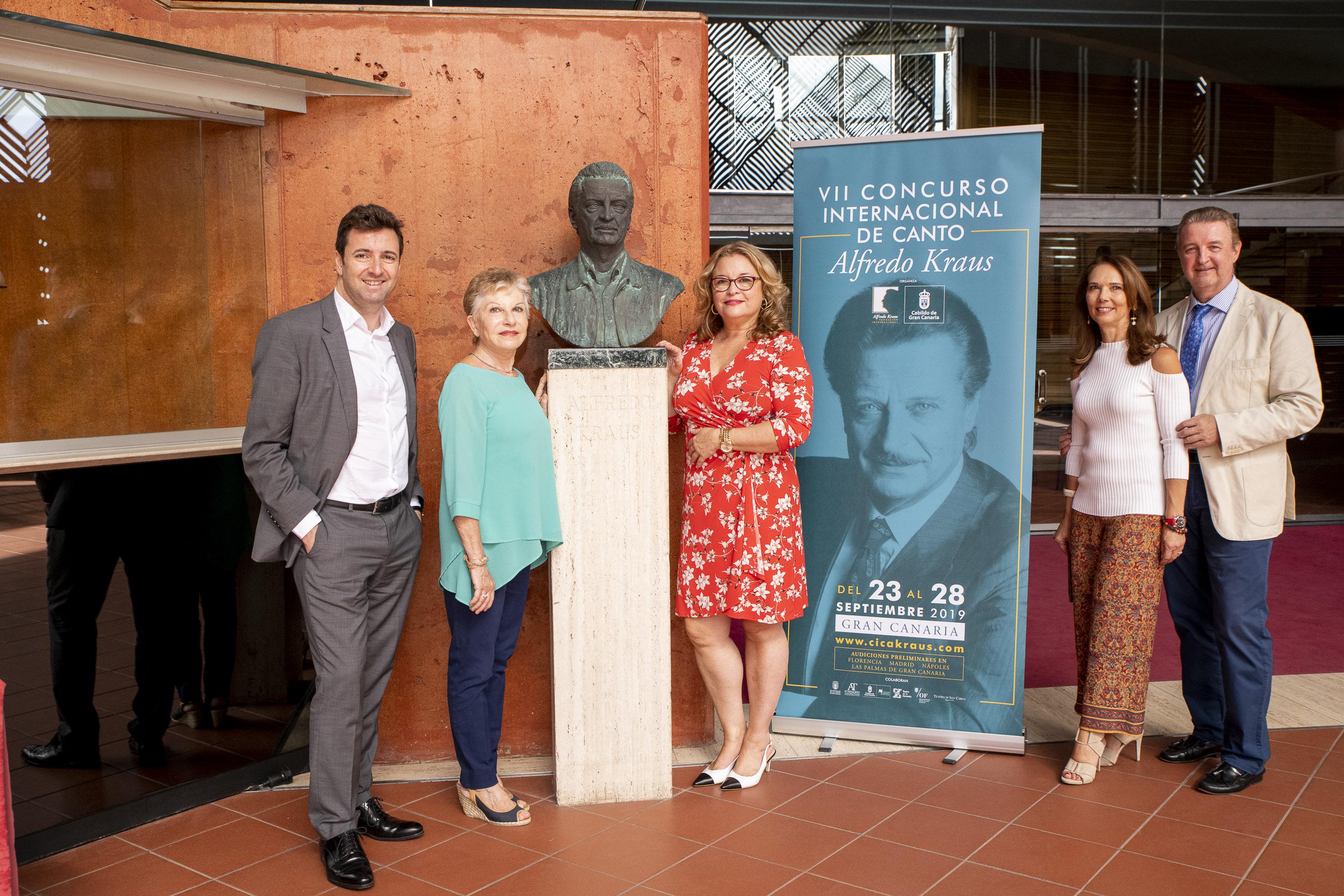 Gran Canaria descubre al mundo los nuevos talentos de la lírica en la final del VII Concurso Internacional de Canto Alfredo Kraus