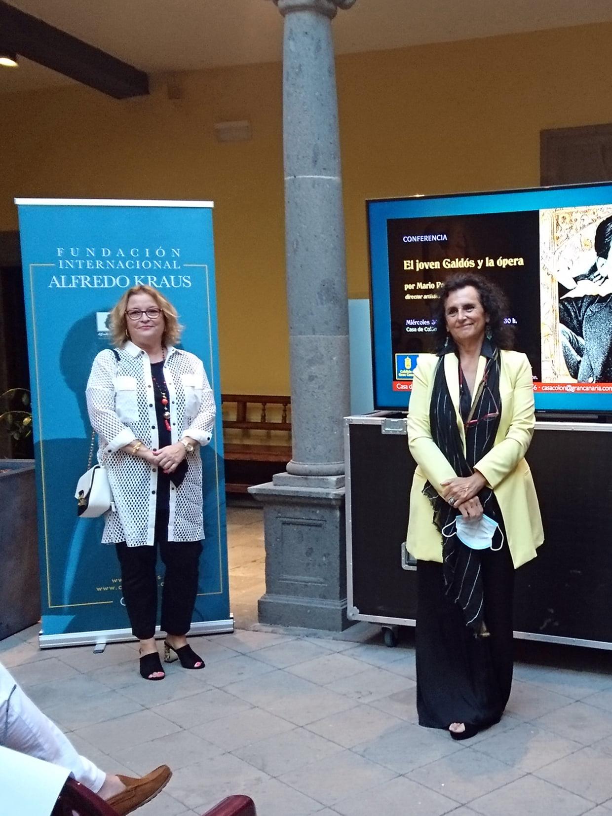 Mario Pontiggia rememora el descubrimiento de la ópera por un joven Galdós en el Teatro Cairasco de la capital grancanaria