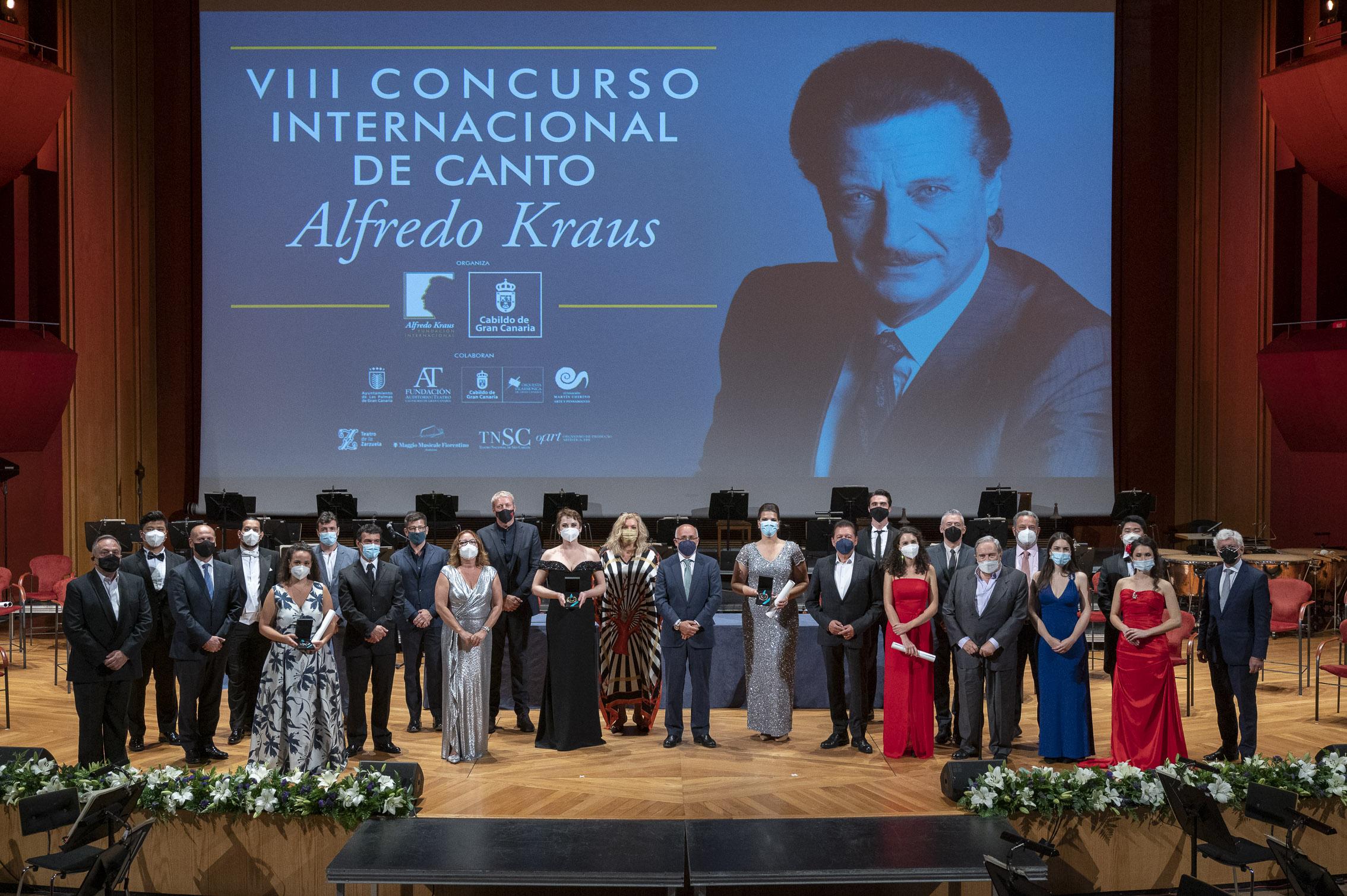 La mezzosoprano ucraniana Olga Syniakova obtiene el primer premio del VIII Concurso Internacional de Canto Alfredo Kraus